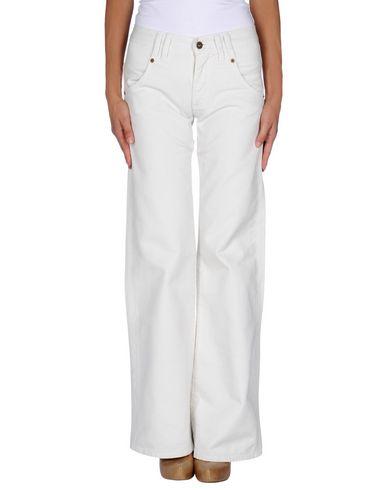 Фото - Джинсовые брюки от JUCCA цвет слоновая кость