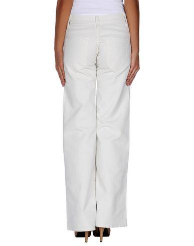 Фото 2 - Джинсовые брюки от JUCCA цвет слоновая кость