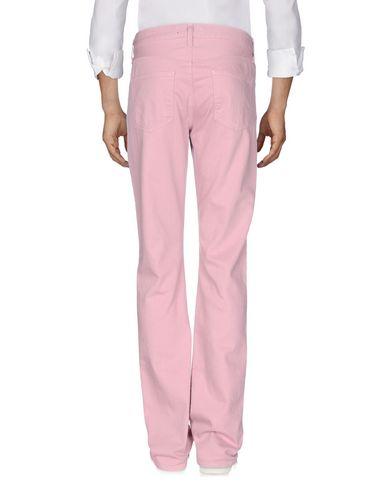 Фото 2 - Джинсовые брюки розового цвета