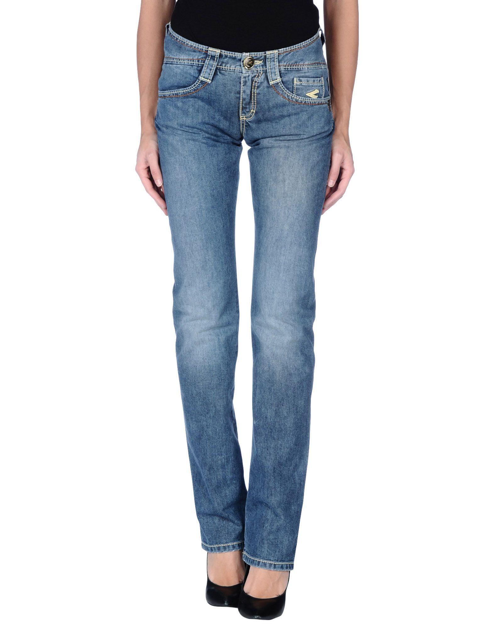 CARLO CHIONNA Джинсовые брюки цена 2017