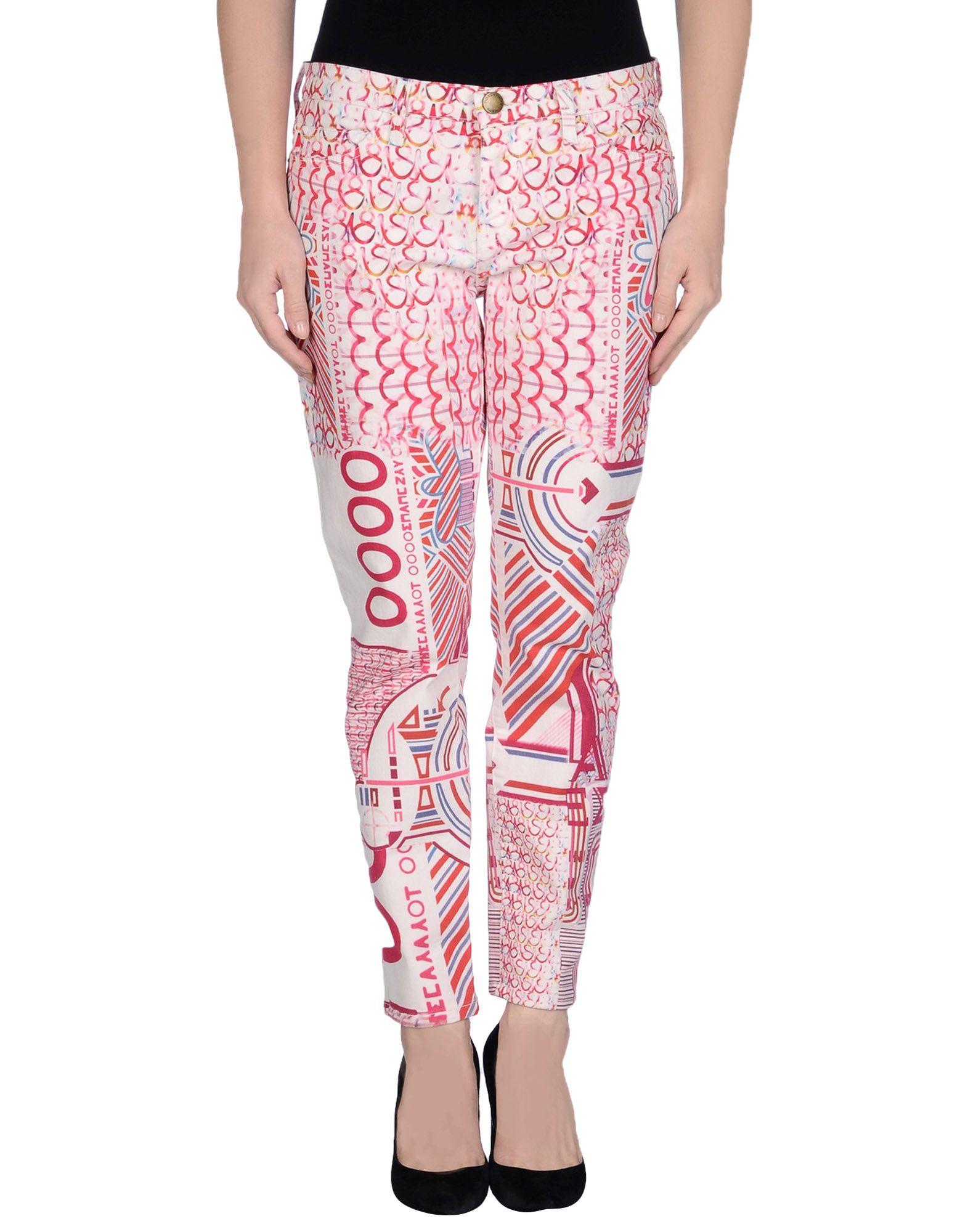 цены на MARY KATRANTZOU Джинсовые брюки в интернет-магазинах