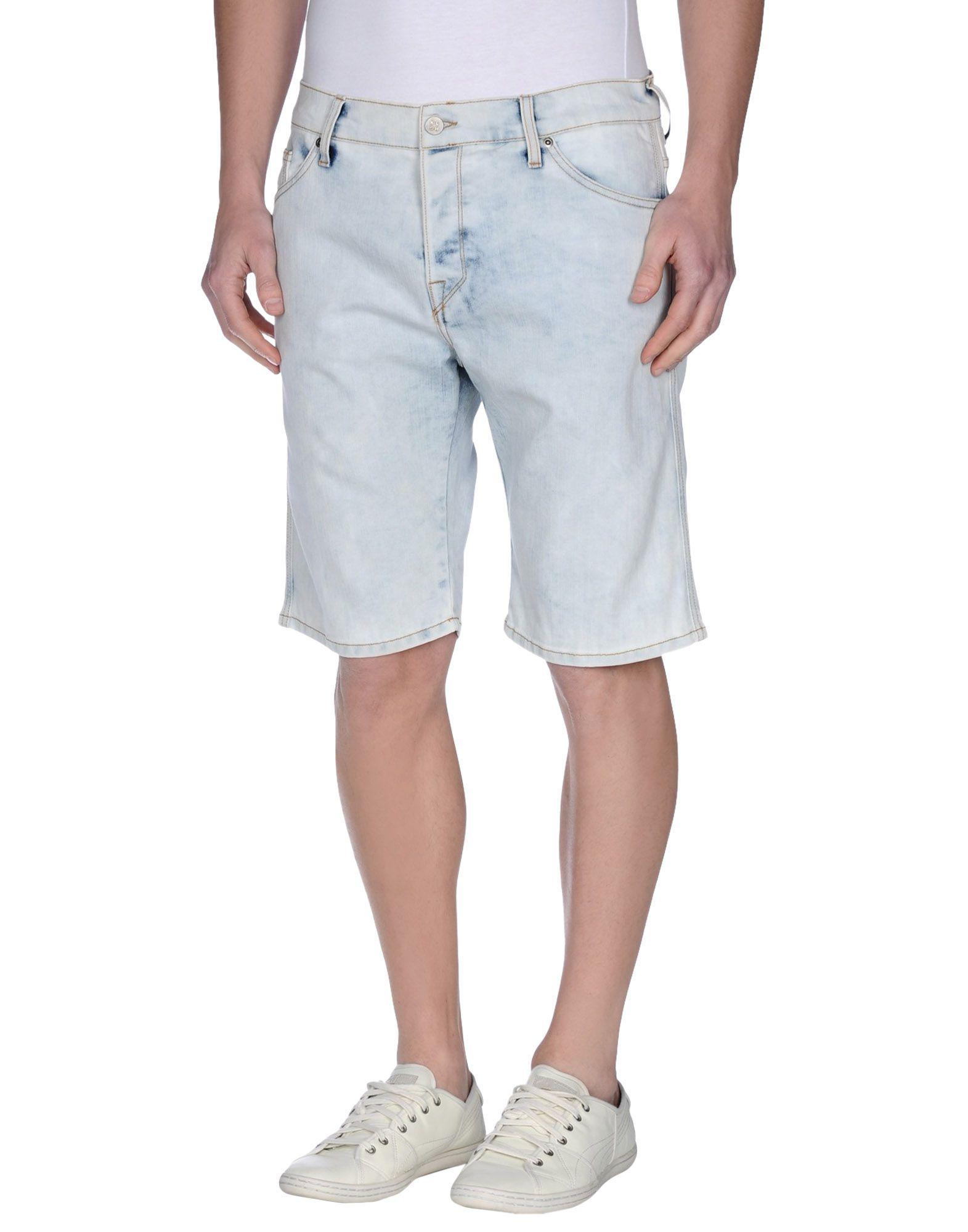MELTIN POT KLSH Джинсовые бермуды meltin pot klsh джинсовые брюки