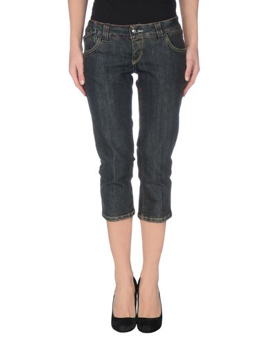 Джинсовые брюки-капри YES LONDON 42400003JH