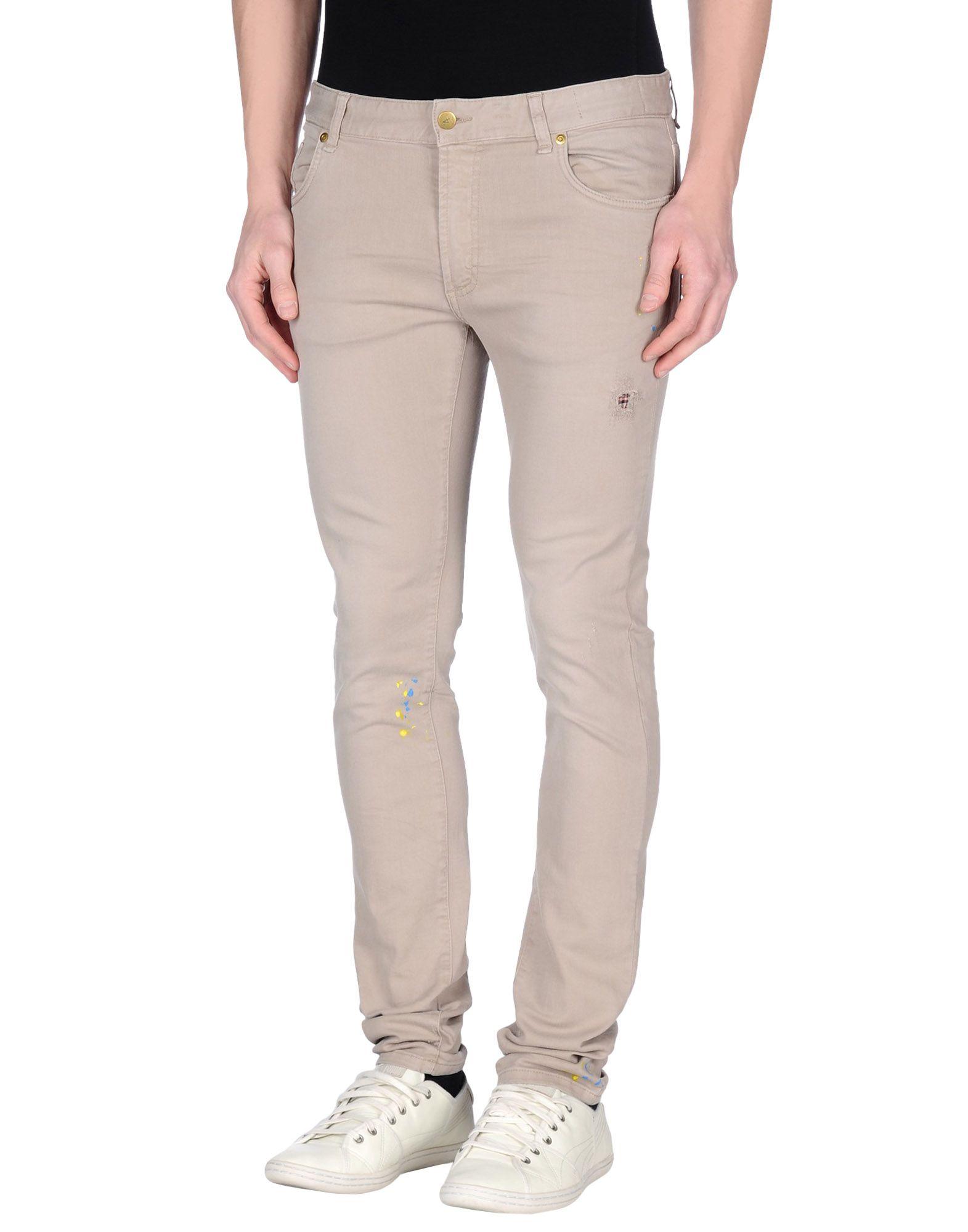 N° 4 FOUR Джинсовые брюки недорго, оригинальная цена
