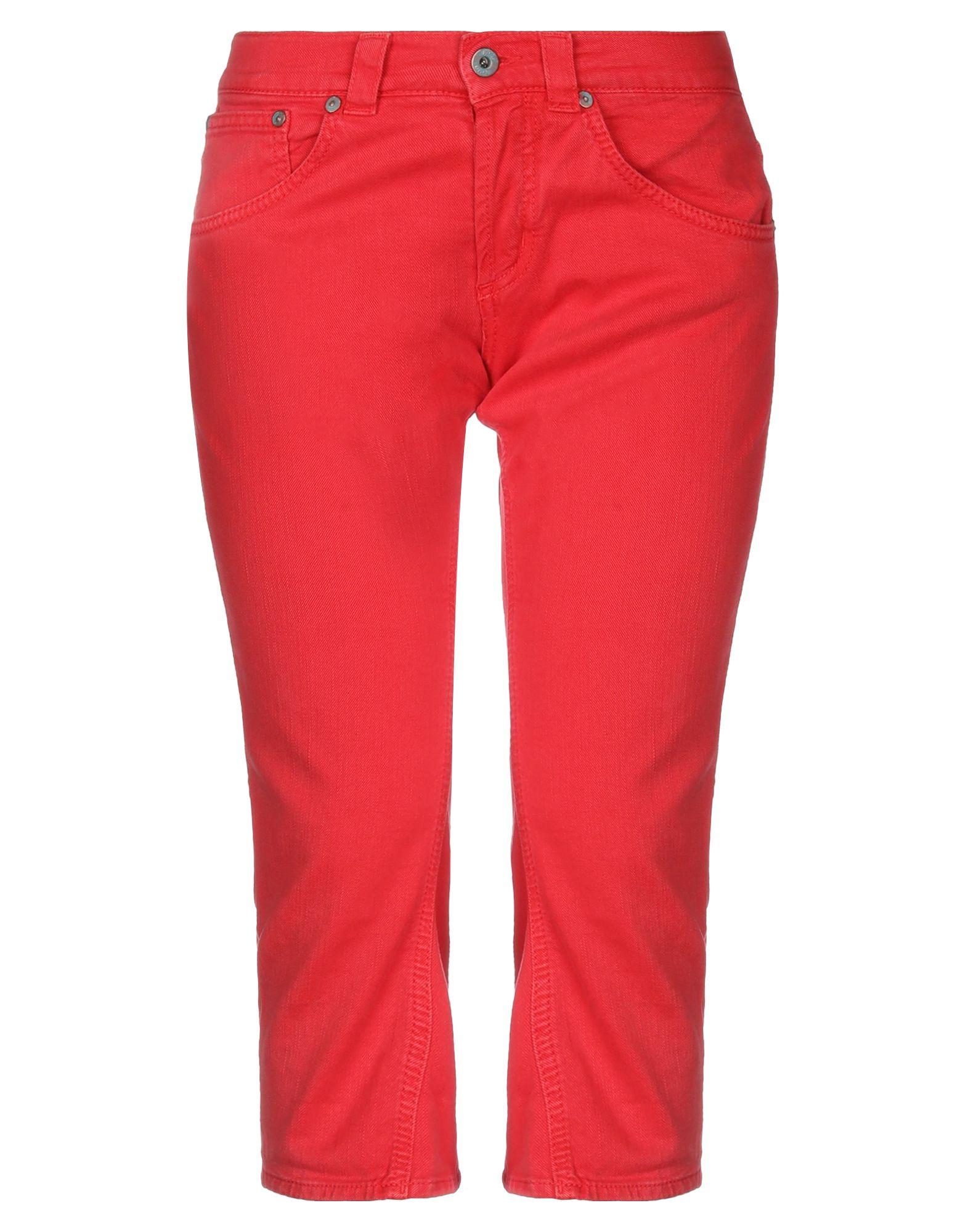 цены на DONDUP STANDART Джинсовые брюки-капри  в интернет-магазинах