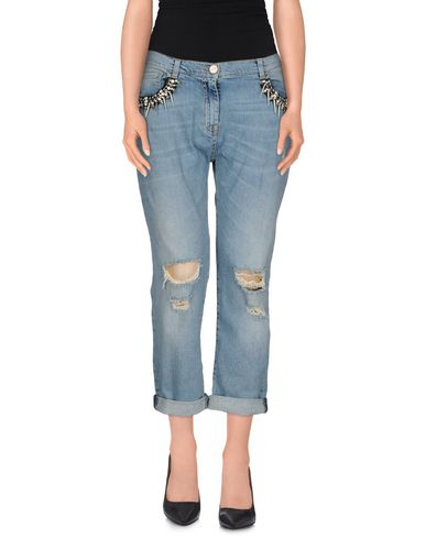 Джинсовые брюки-капри PINKO 42417572PM