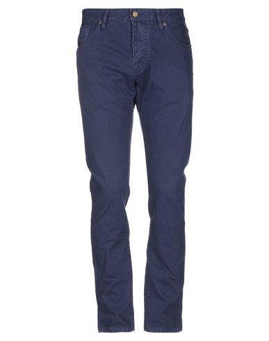 Фото - Джинсовые брюки темно-синего цвета