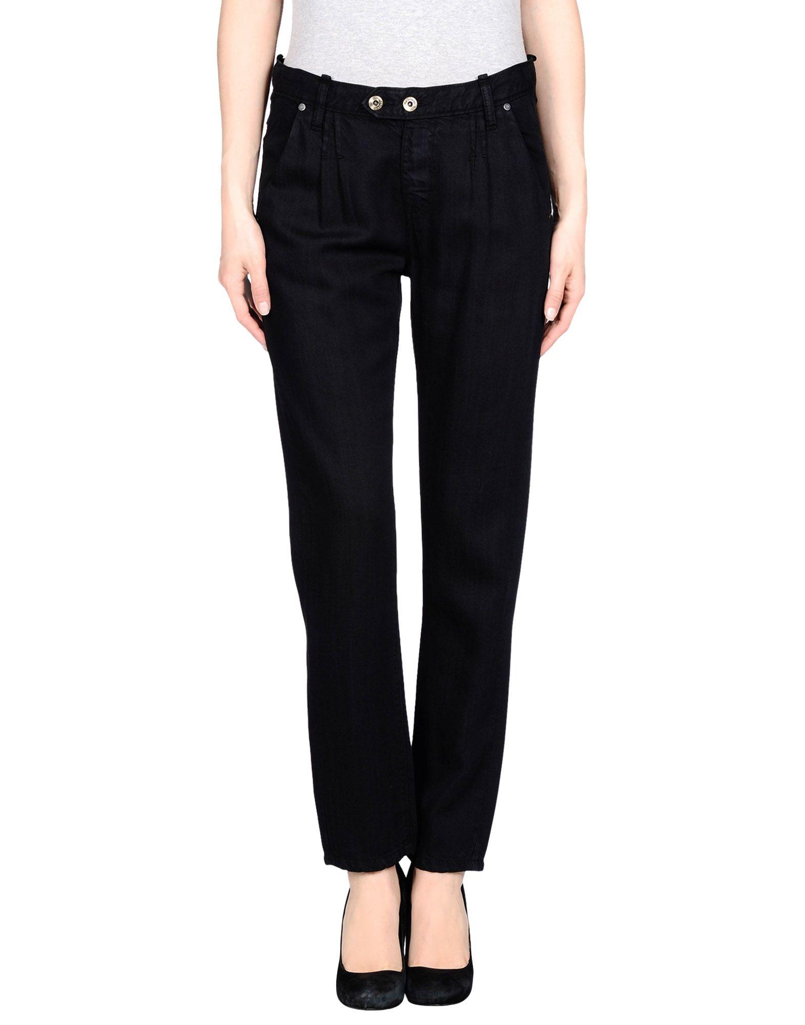 TAKE-TWO Джинсовые брюки take two топ без рукавов