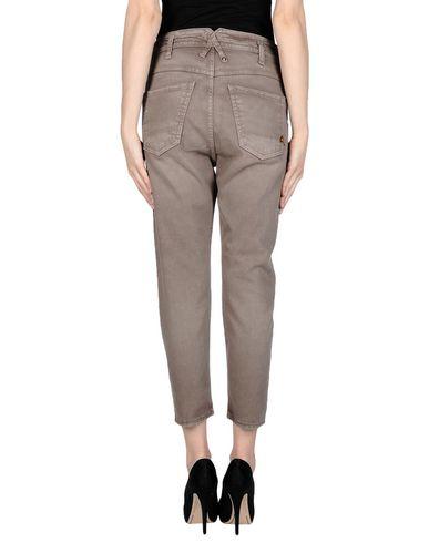 Фото 2 - Джинсовые брюки цвета хаки