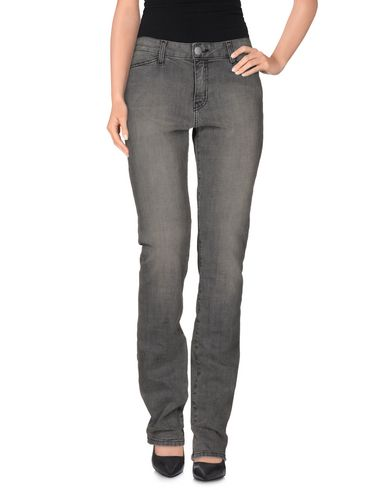 Джинсовые брюки CURRENT/ELLIOTT + CHARLOTTE GAINSBOURG