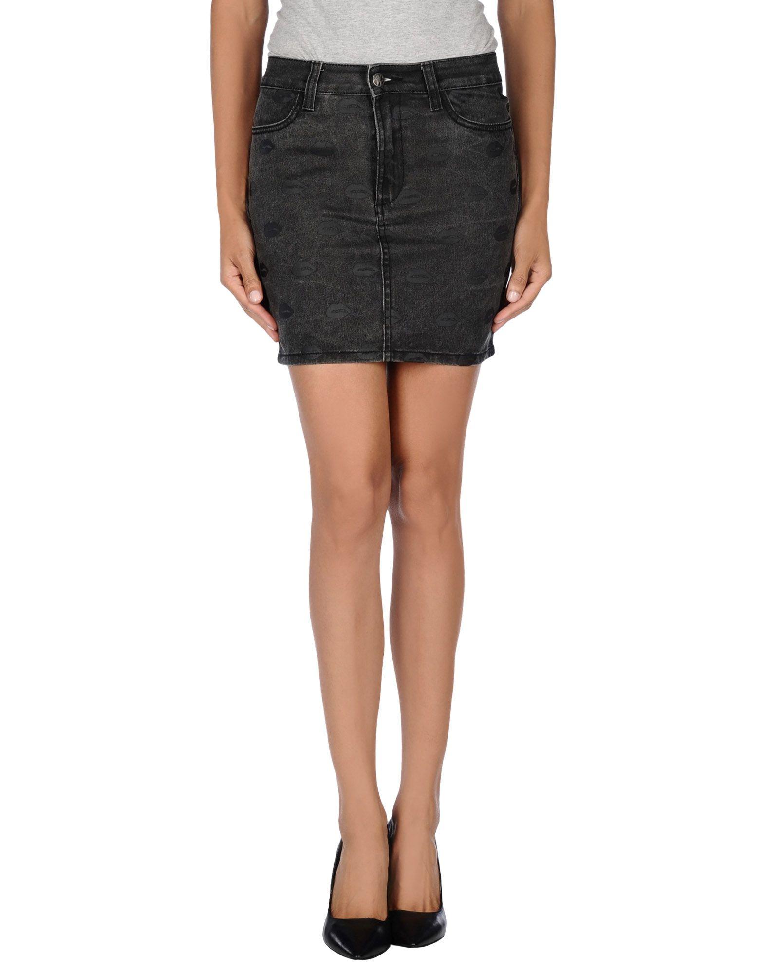 где купить AMERICAN RETRO Джинсовая юбка по лучшей цене