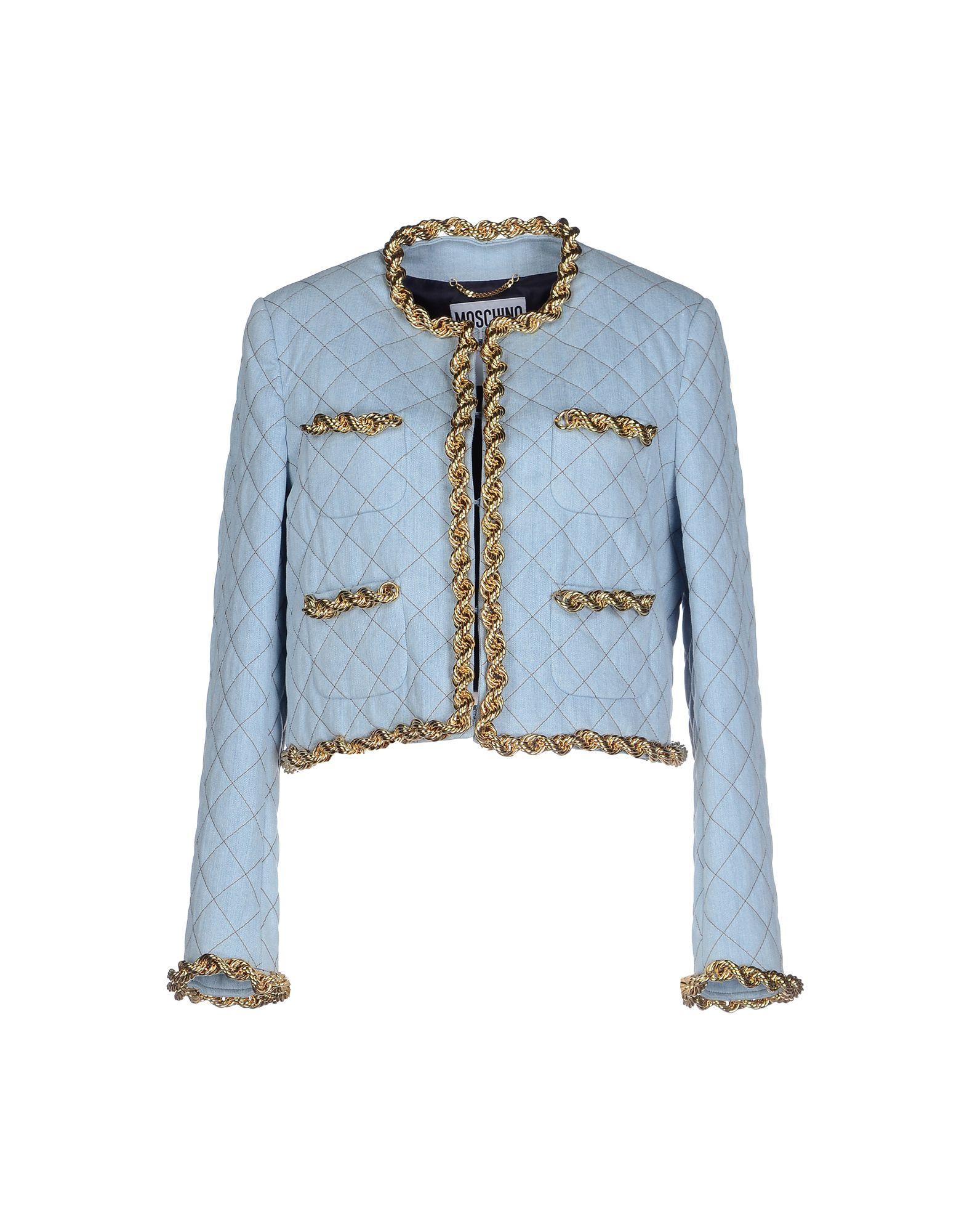 MOSCHINO Джинсовая верхняя одежда represent джинсовая верхняя одежда
