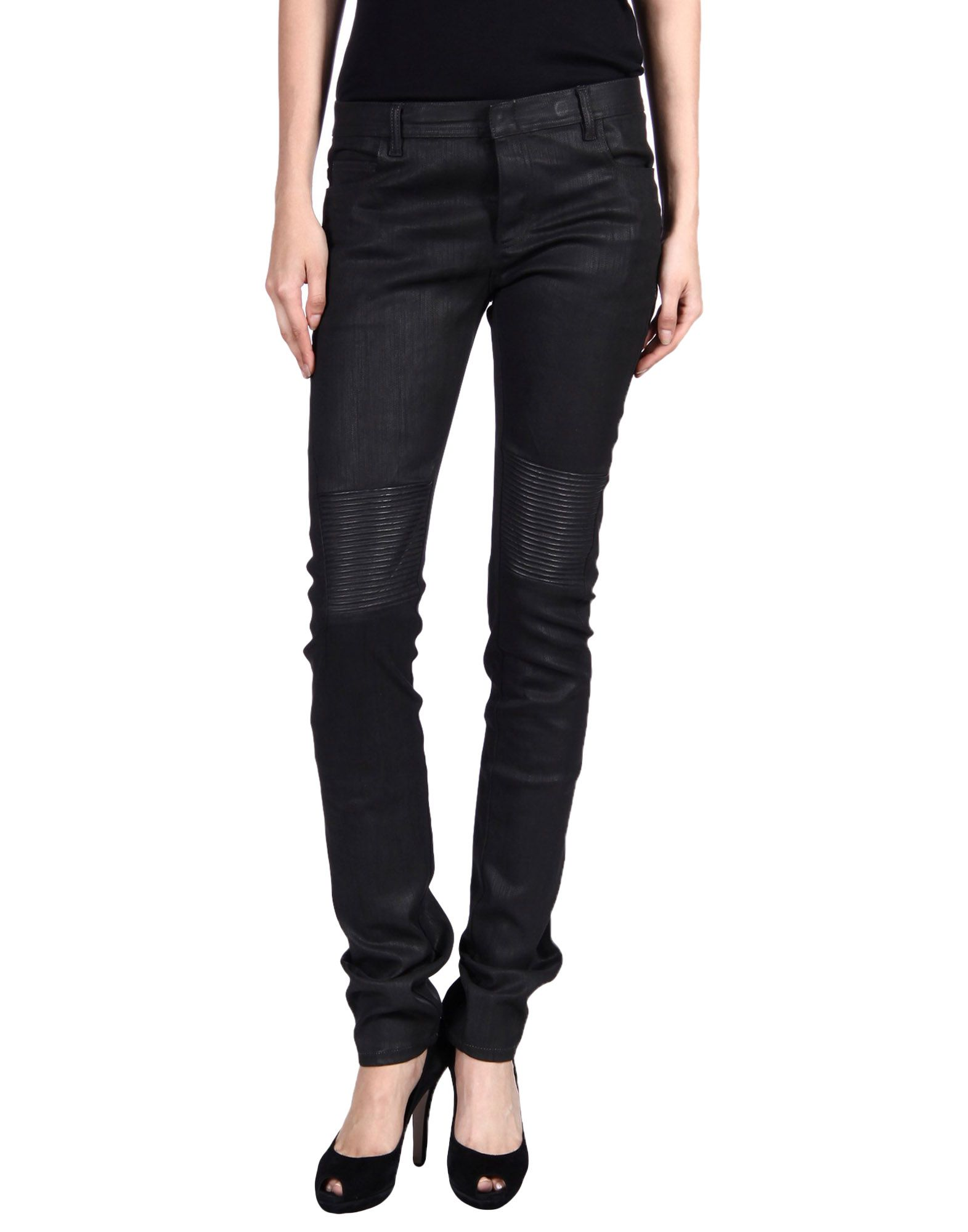 NICOLAS ANDREAS TARALIS Denim Pants in Black