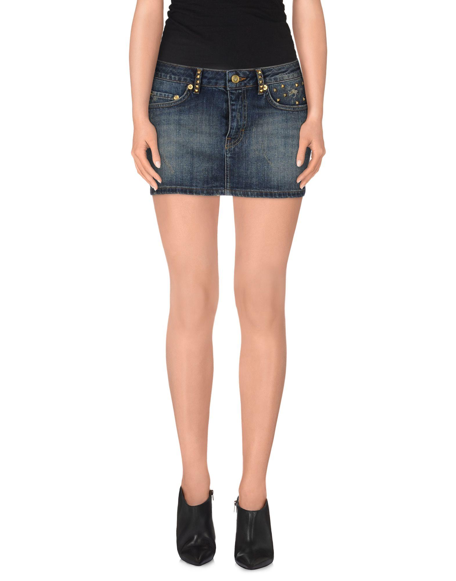BEAYUKMUI Джинсовая юбка beayukmui джинсовая юбка