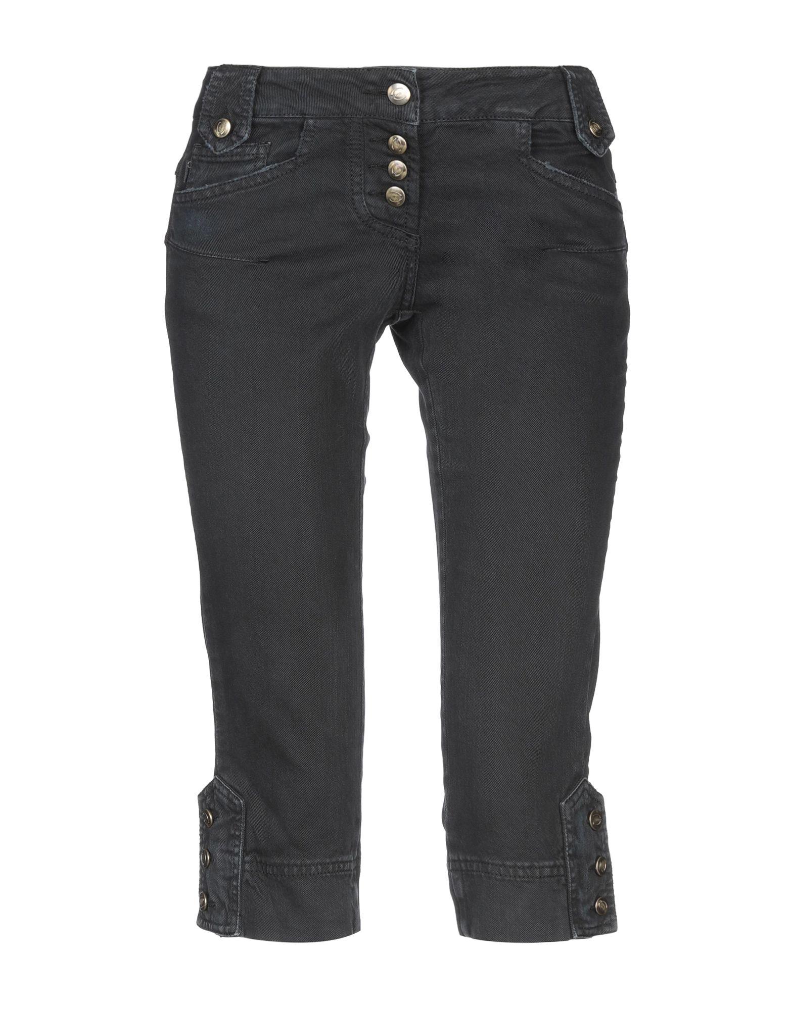 JUST CAVALLI Джинсовые брюки-капри цена 2017