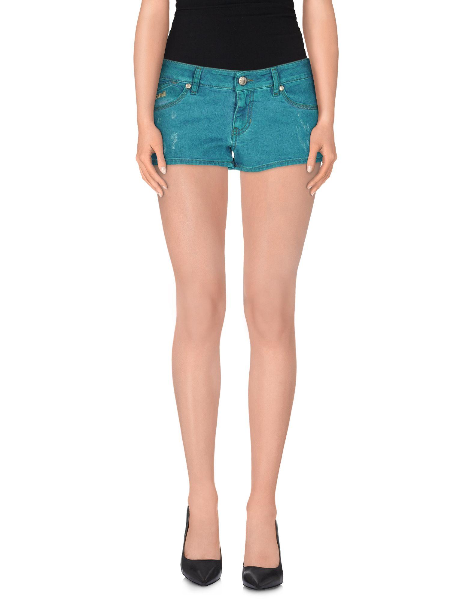 JUST CAVALLI Джинсовые шорты superfine джинсовые шорты