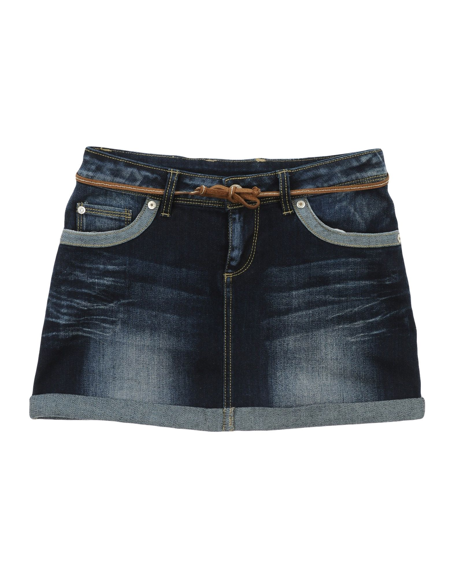 MASH KISS Denim skirts