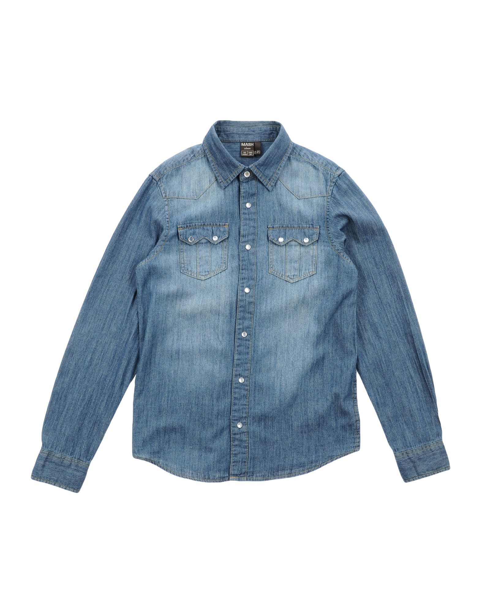 MASH JUNIOR Denim shirts
