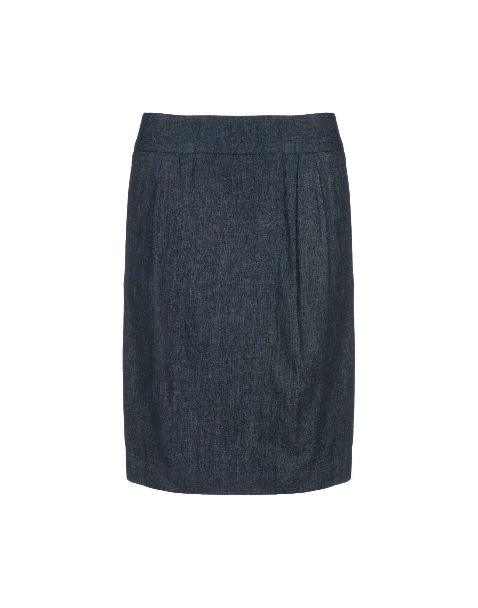 8 Джинсовая юбка