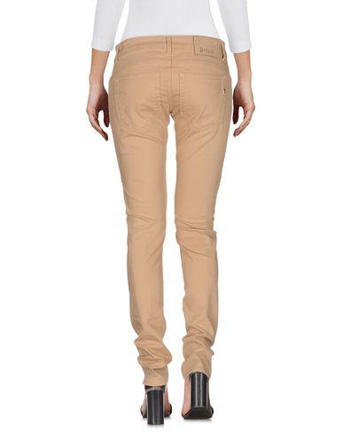 Фото 2 - Джинсовые брюки цвет песочный