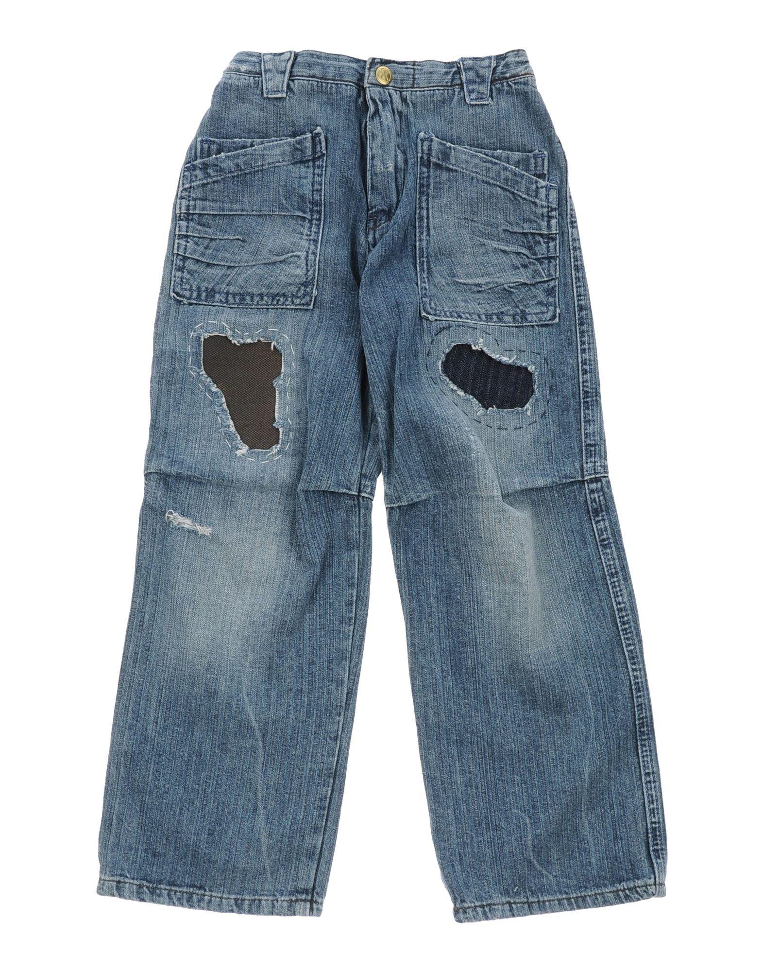RA-RE THE KID Джинсовые брюки original roland re 640 ra 640 print carriage board w701987010