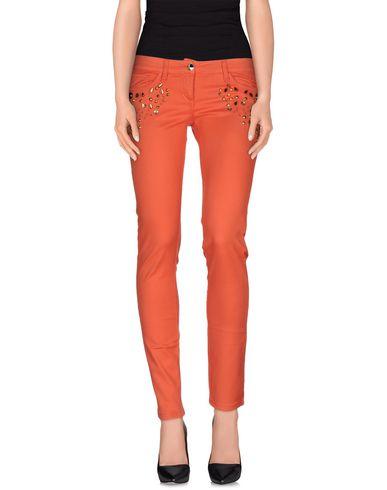 Купить Джинсовые брюки кораллового цвета