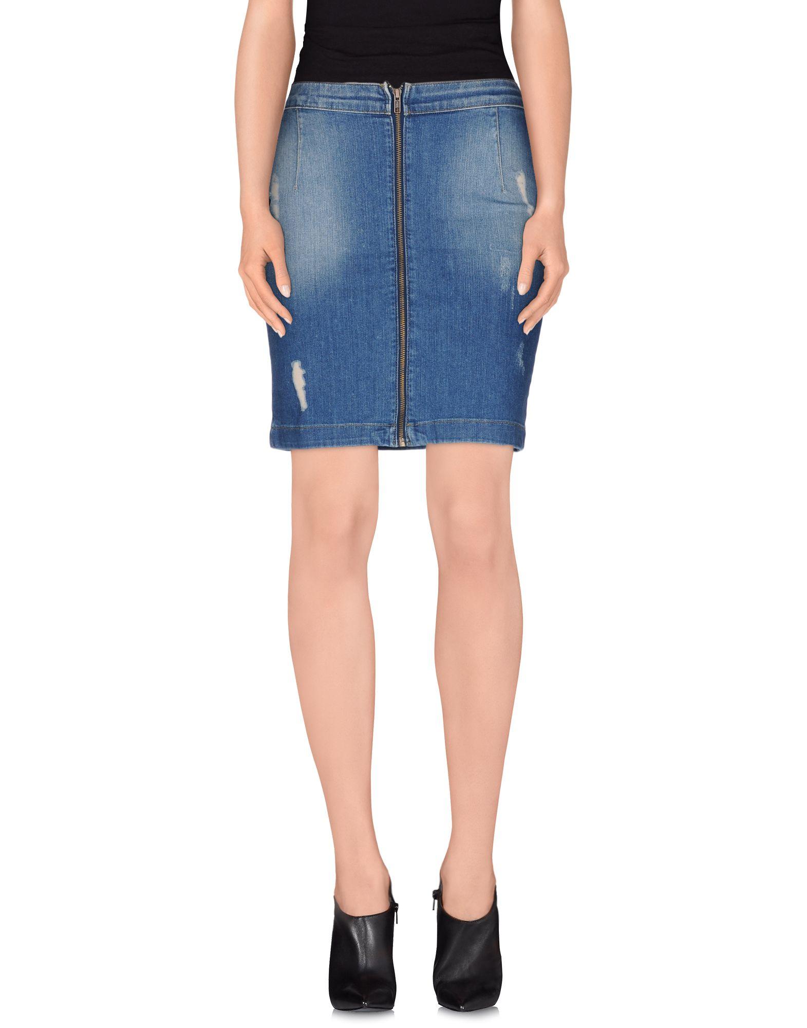 !M?ERFECT Джинсовая юбка m erfect джинсовая рубашка