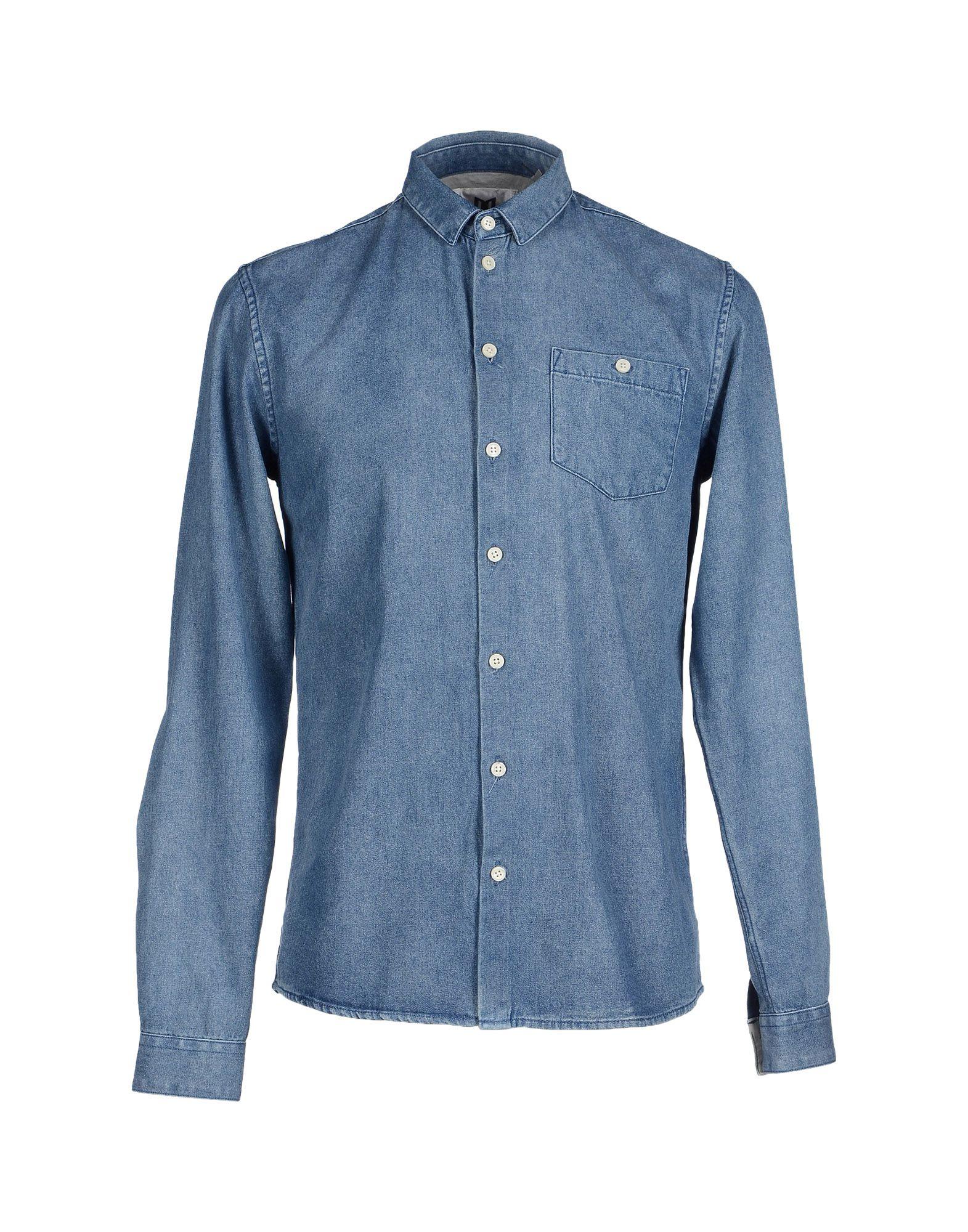 MINIMUM Джинсовая рубашка minimum джинсовая рубашка
