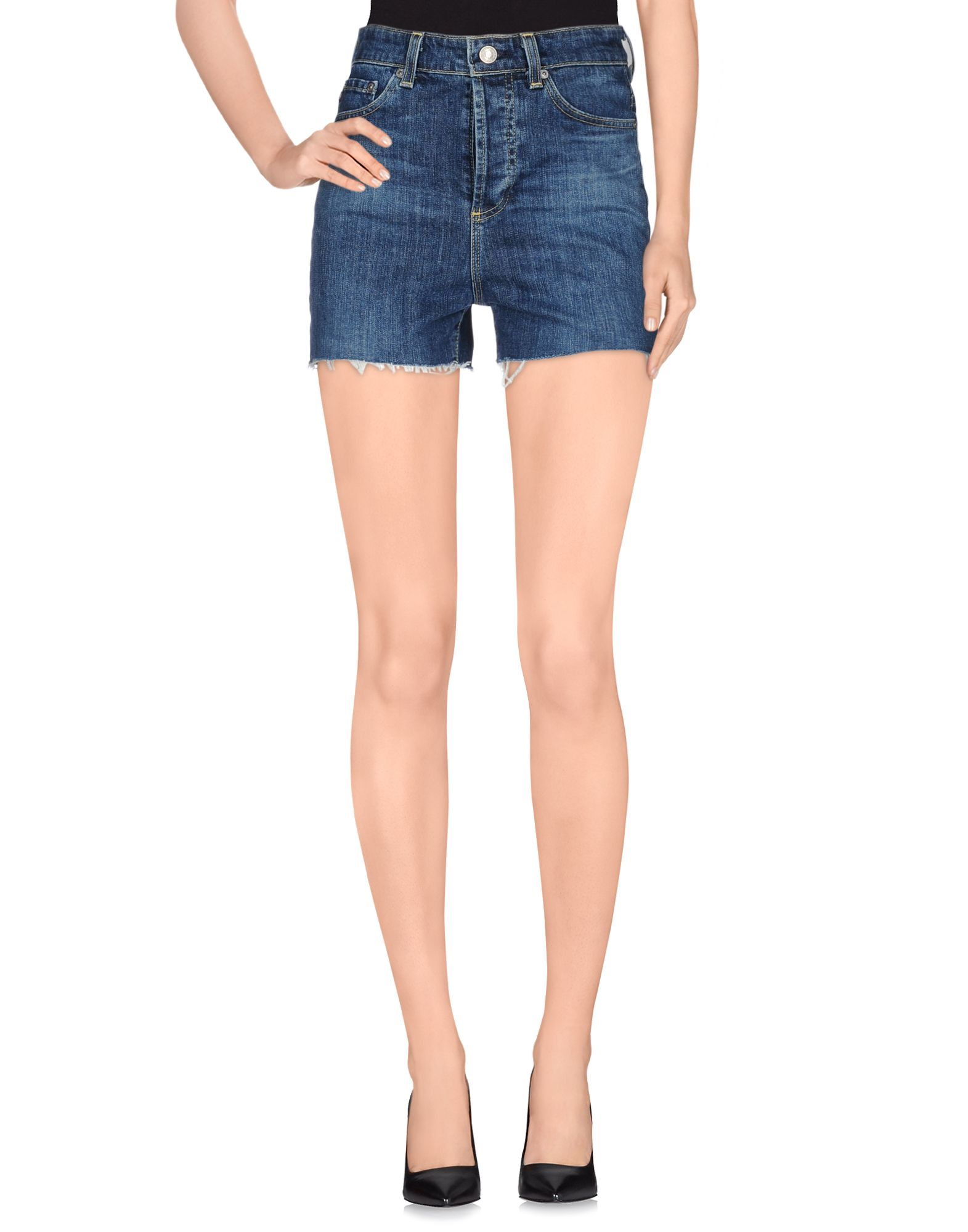 ALEXA CHUNG for AG Jeans Джинсовые шорты