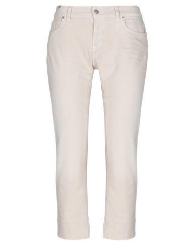 Фото - Джинсовые брюки от ATELIER NOTIFY бежевого цвета