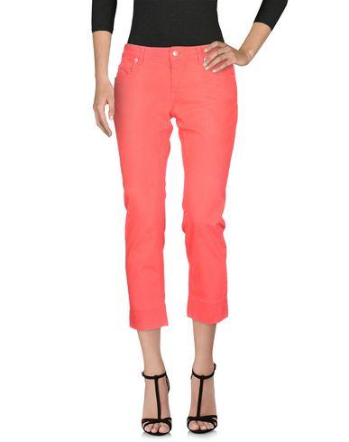 Фото - Джинсовые брюки от ATELIER NOTIFY кораллового цвета