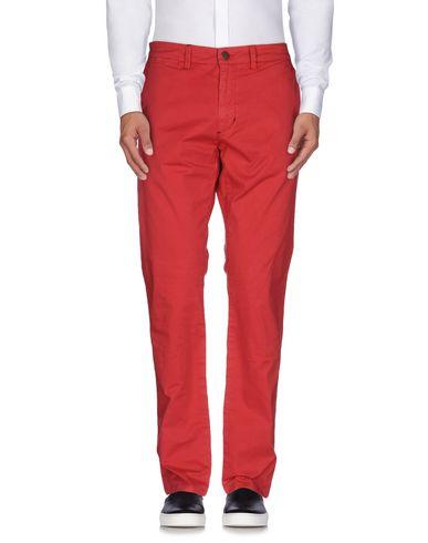Фото - Повседневные брюки от SUN 68 красного цвета