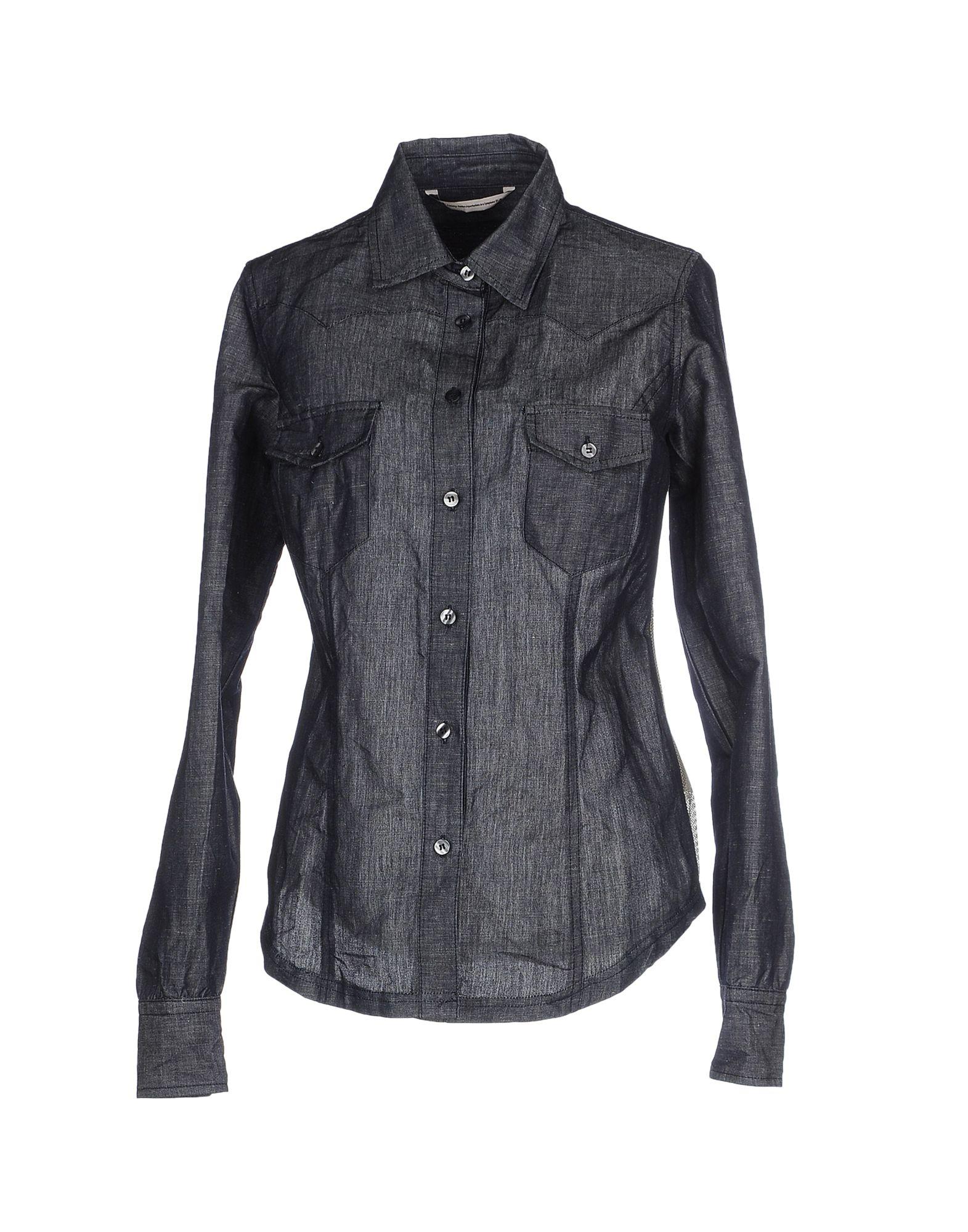 NOVEMB3R Джинсовая рубашка novemb3r толстовка