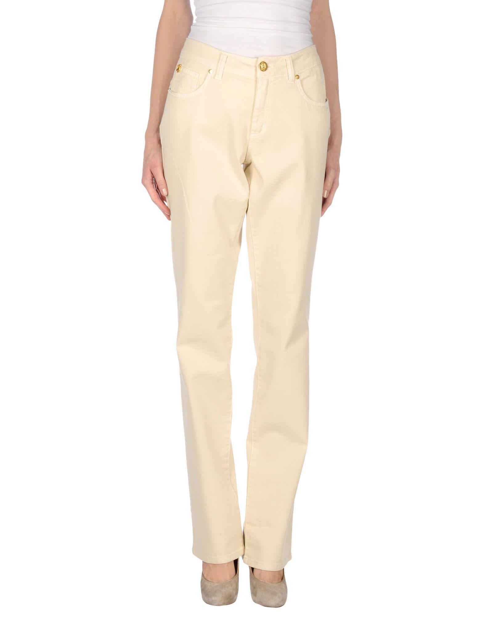 MARANI JEANS Damen Jeanshose Farbe Beige Größe 2