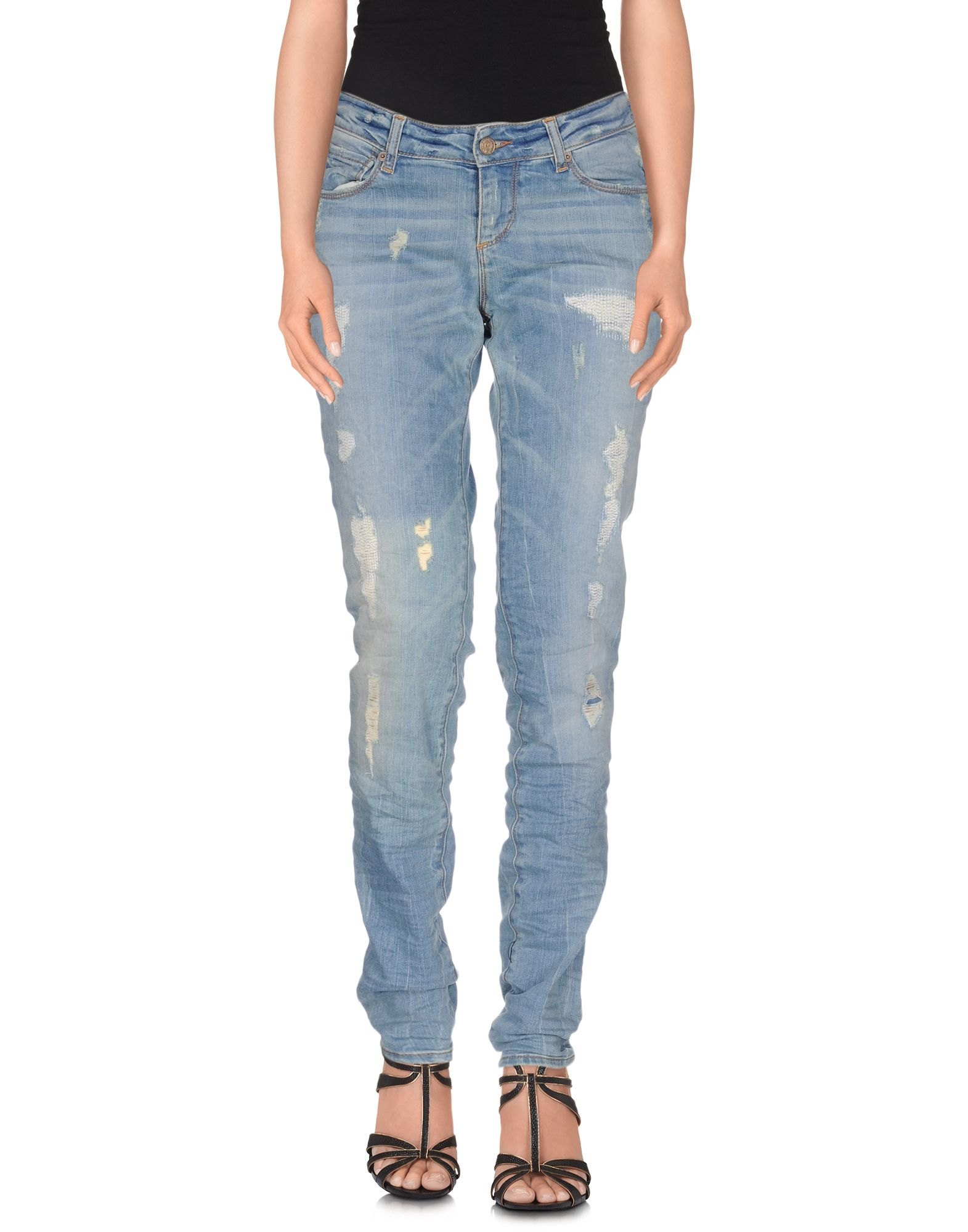 MAGAZZINI DEL SALE Джинсовые брюки magazzini del sale бермуды