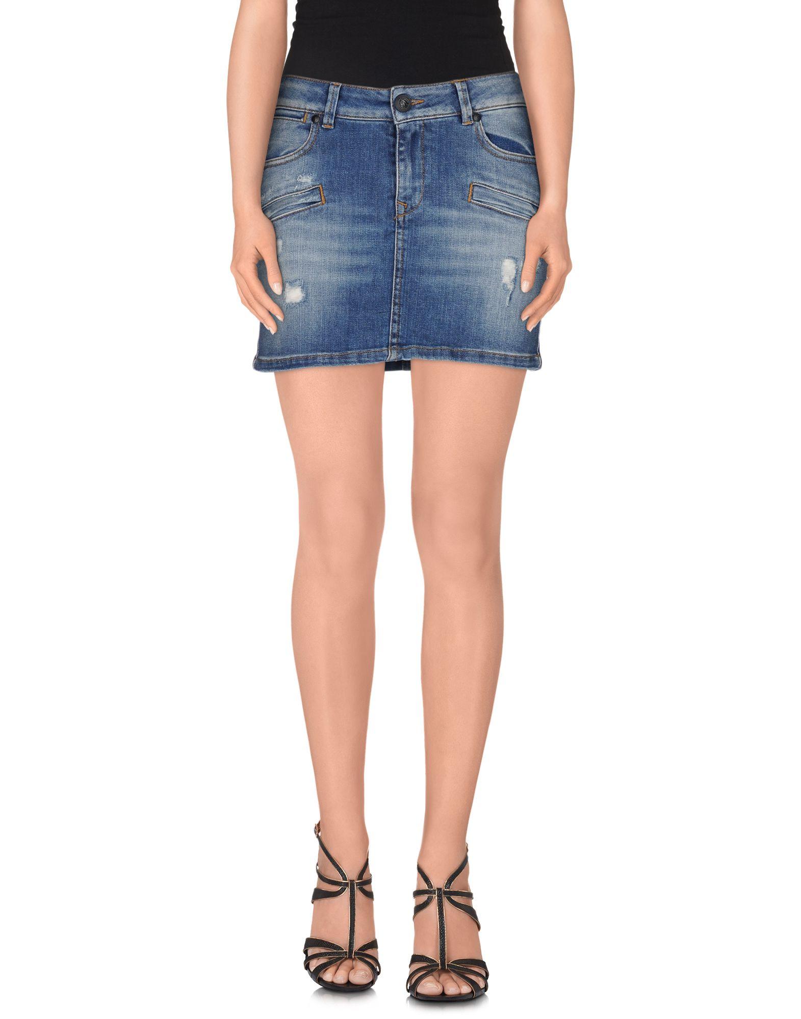 где купить PIERRE BALMAIN Джинсовая юбка по лучшей цене