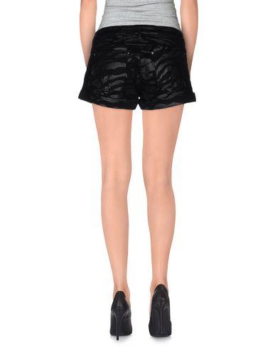 Фото 2 - Джинсовые шорты черного цвета