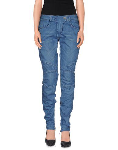 Джинсовые брюки PIERRE BALMAIN 42470344TH