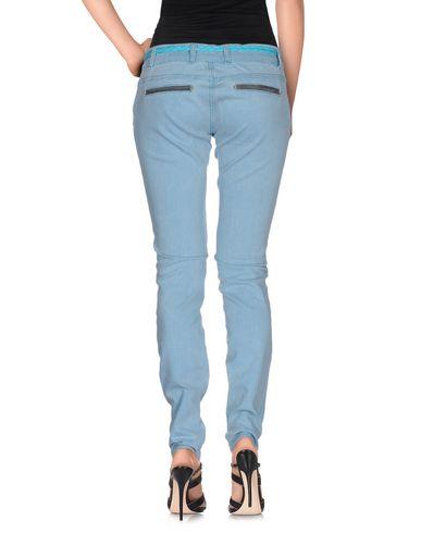 Фото 2 - Джинсовые брюки небесно-голубого цвета