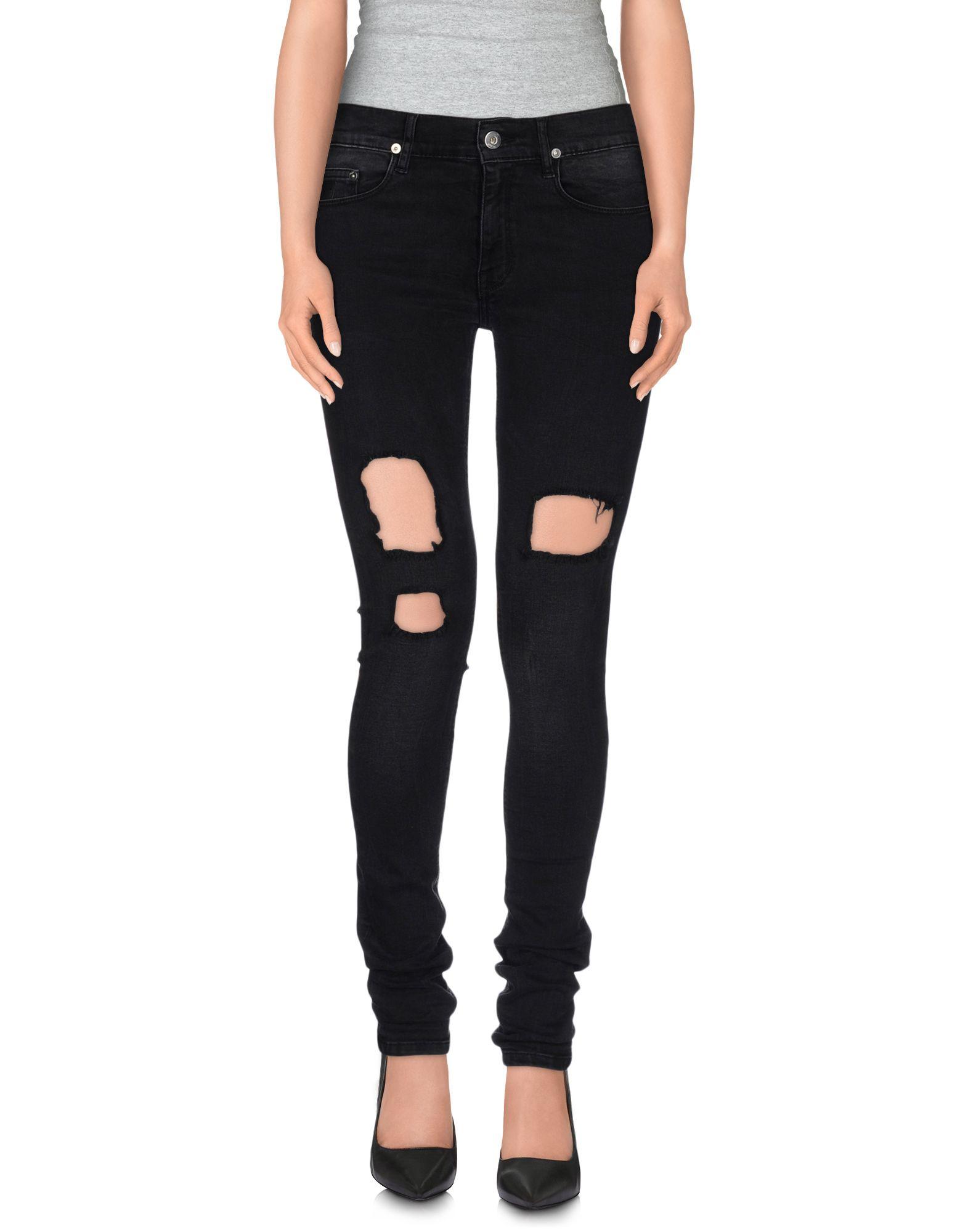 цена APRIL 77 Джинсовые брюки онлайн в 2017 году