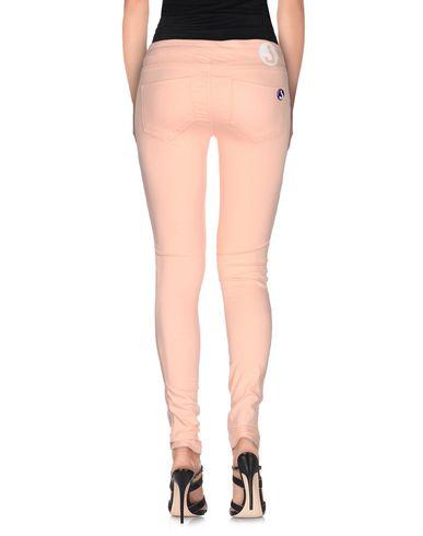 Фото 2 - Джинсовые брюки от JCOLOR светло-розового цвета