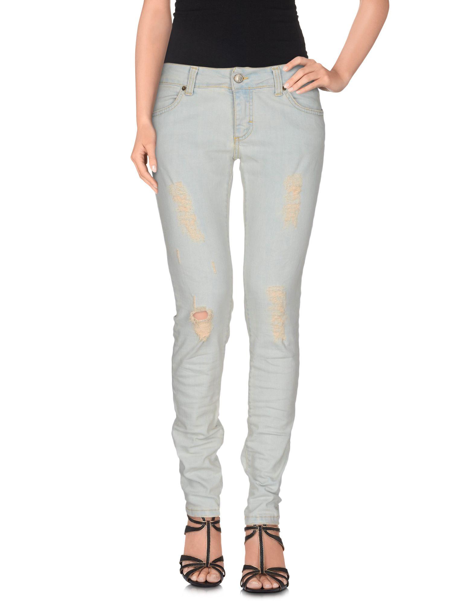 ANIYE BY Damen Jeanshose Farbe Blau Größe 3