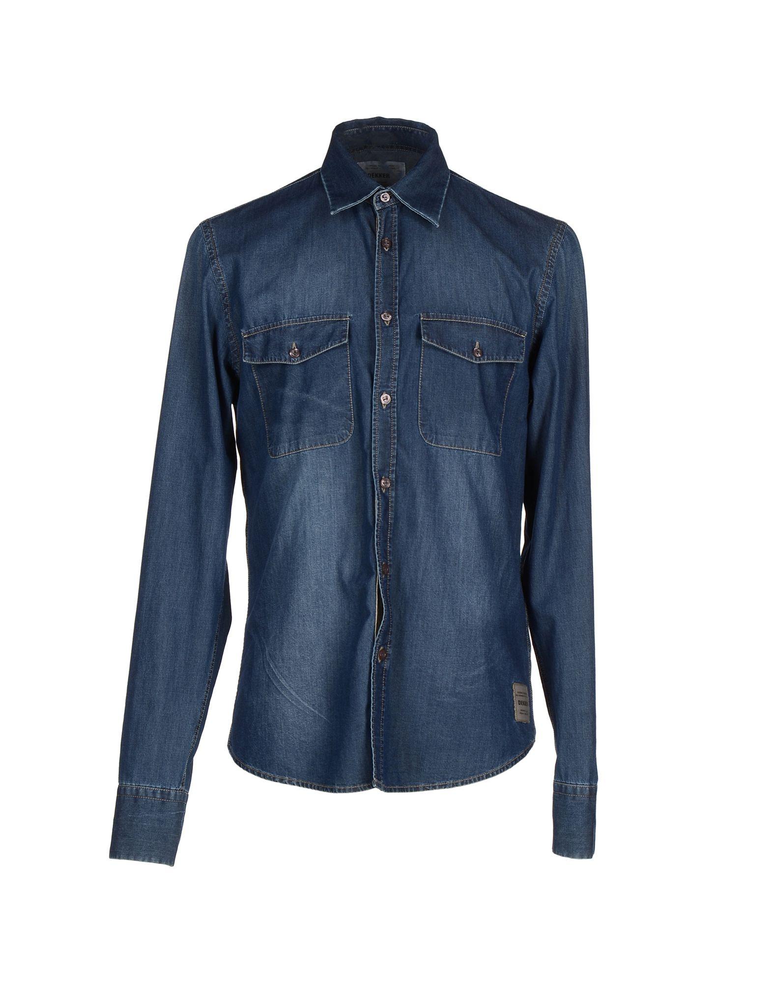 DEKKER Джинсовая рубашка dekker для мтс smart race 4g black