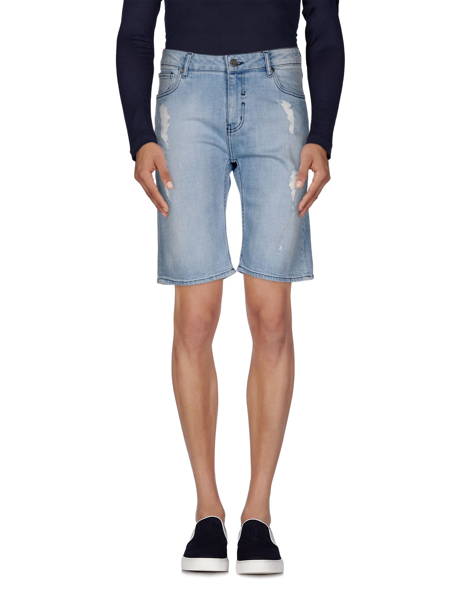ELEVEN PARIS Джинсовые бермуды eleven paris джинсовые шорты