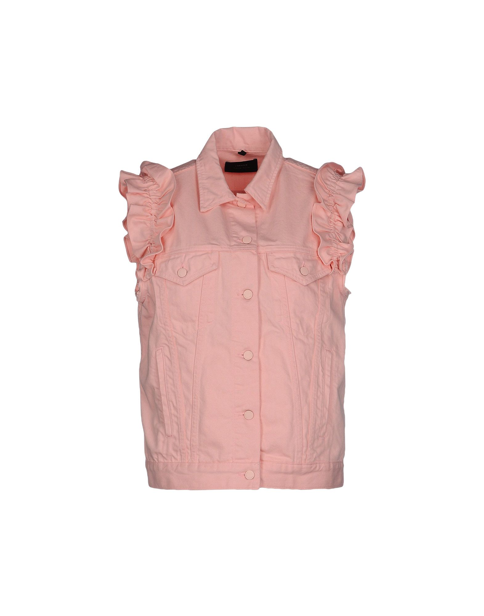 SIMONE ROCHA X J BRAND Denim Jacket in Pink