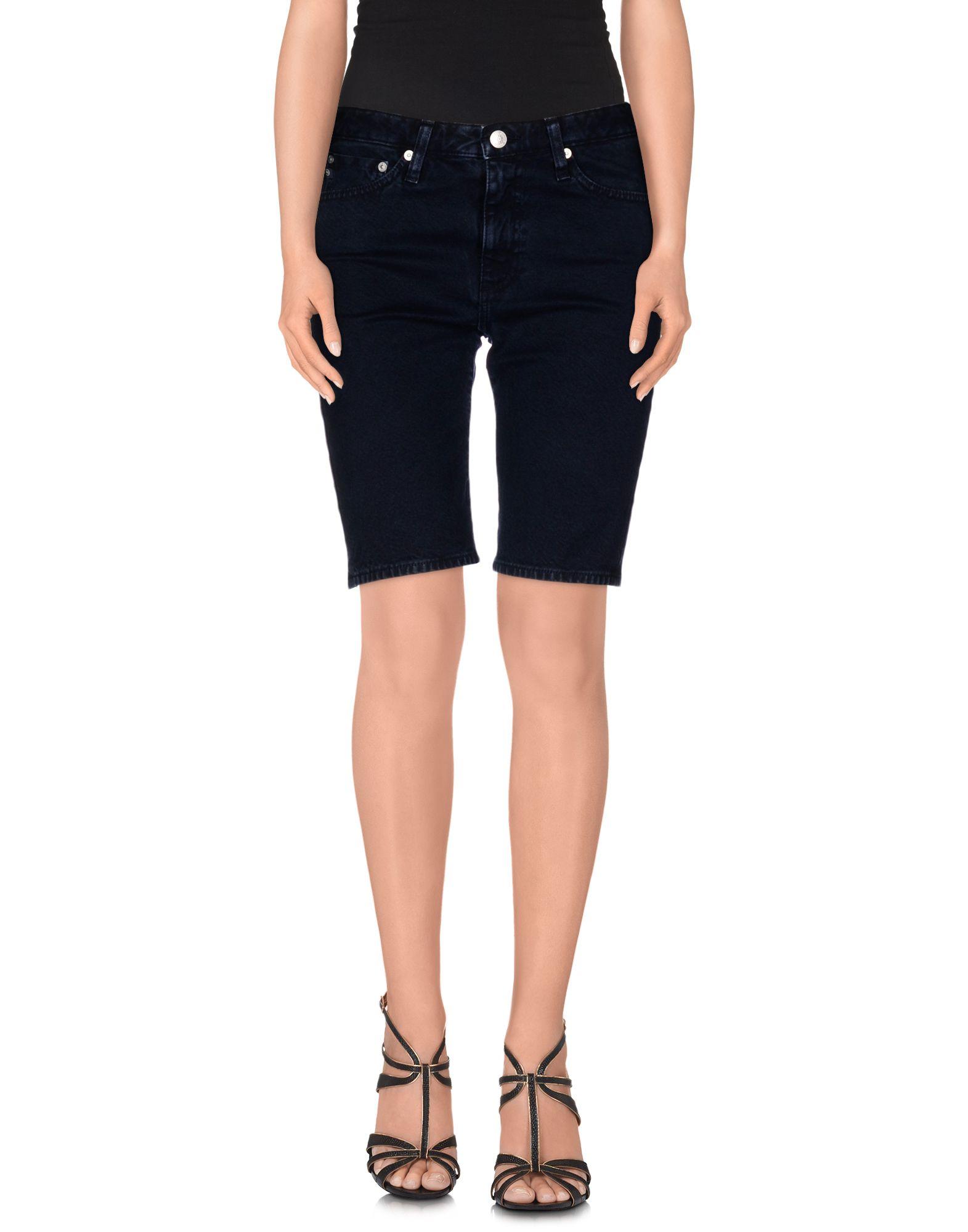 ALEXA CHUNG for AG Jeans Джинсовые бермуды