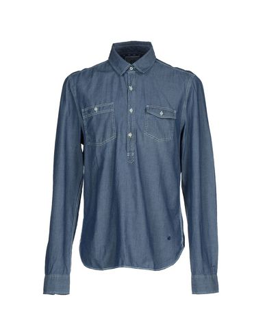 Foto BROOKSFIELD ROYAL BLUE Camicia jeans uomo Camicie jeans