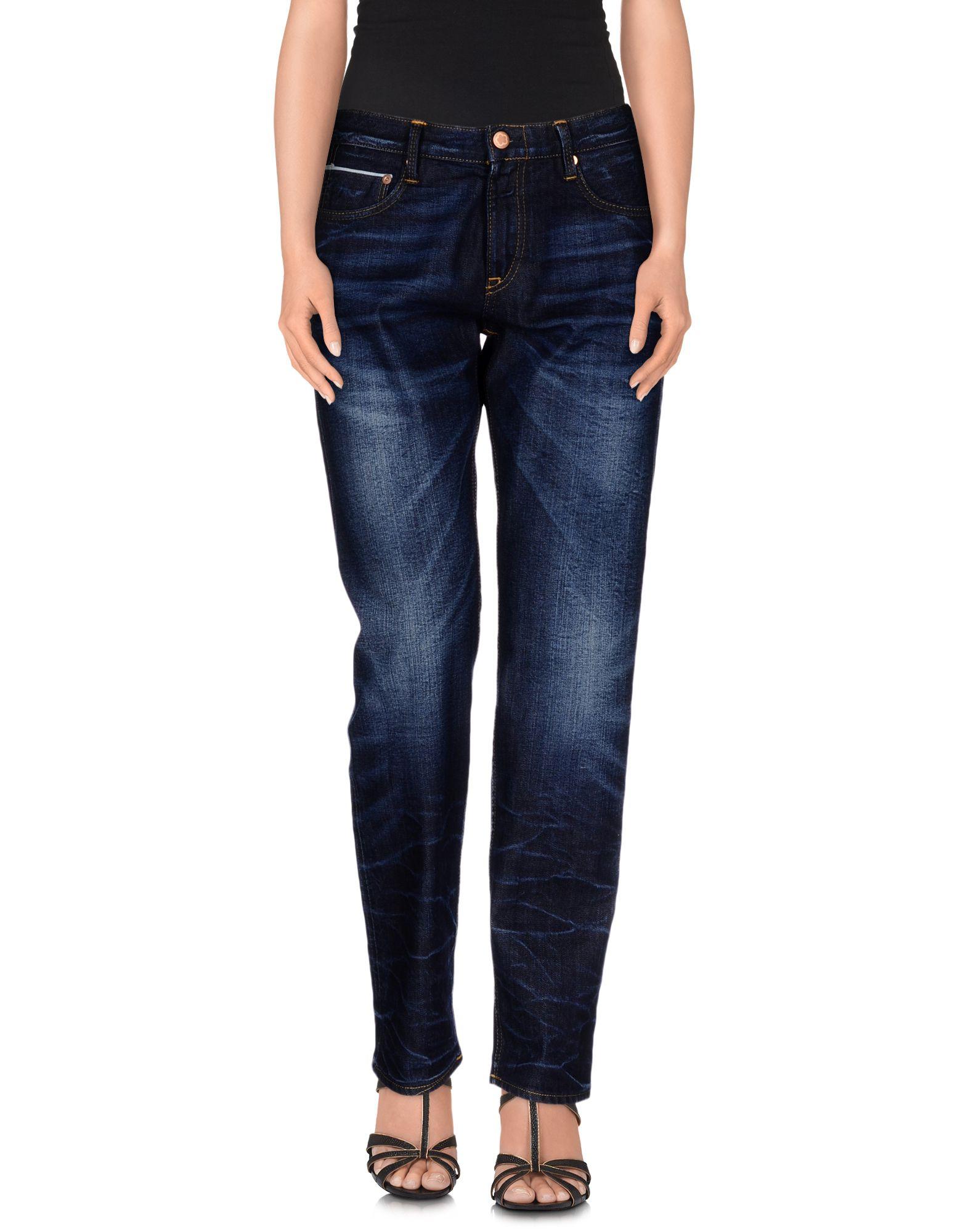 CARE LABEL Denim Pants in Blue