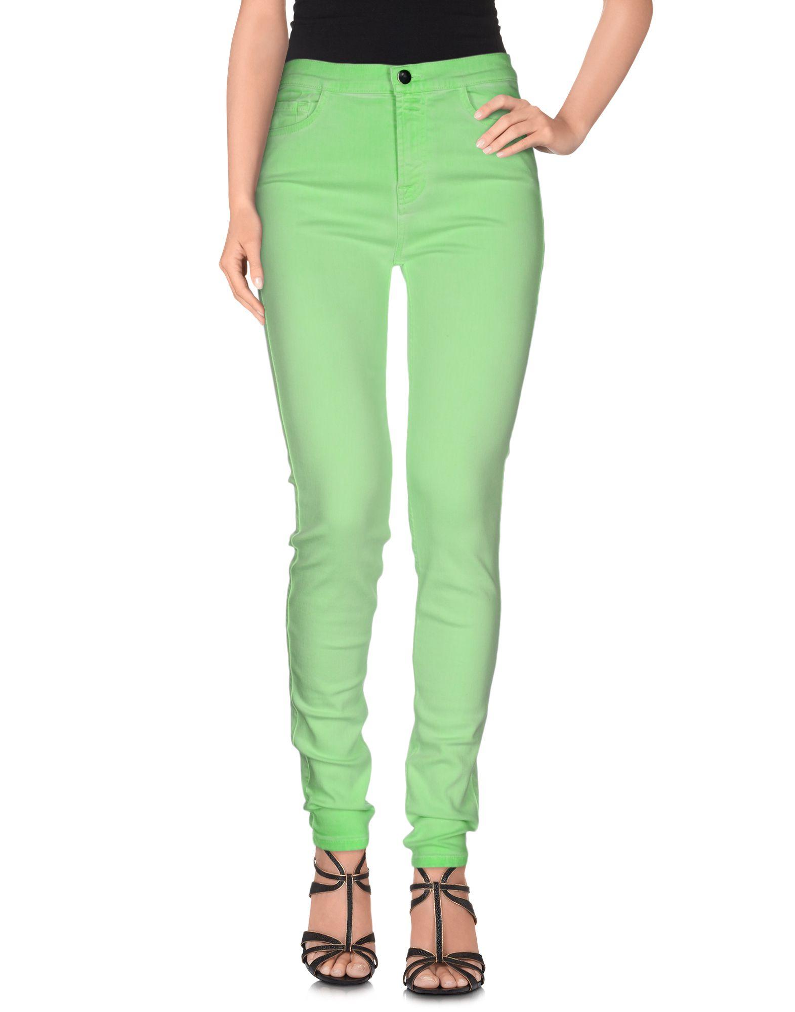 GIAMBATTISTA VALLI for 7 FOR ALL MANKIND Джинсовые брюки недорго, оригинальная цена