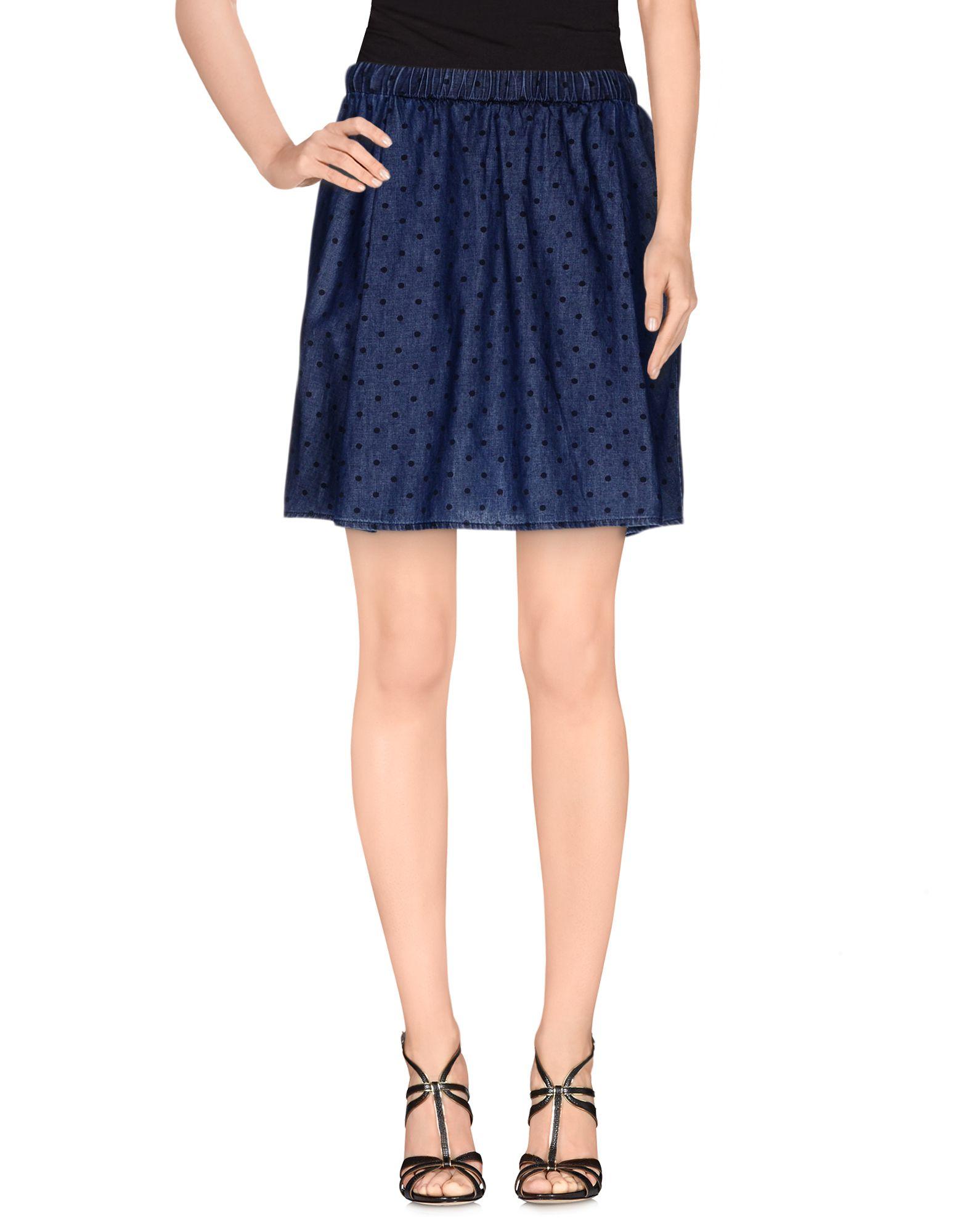 цена ..,MERCI Джинсовая юбка онлайн в 2017 году